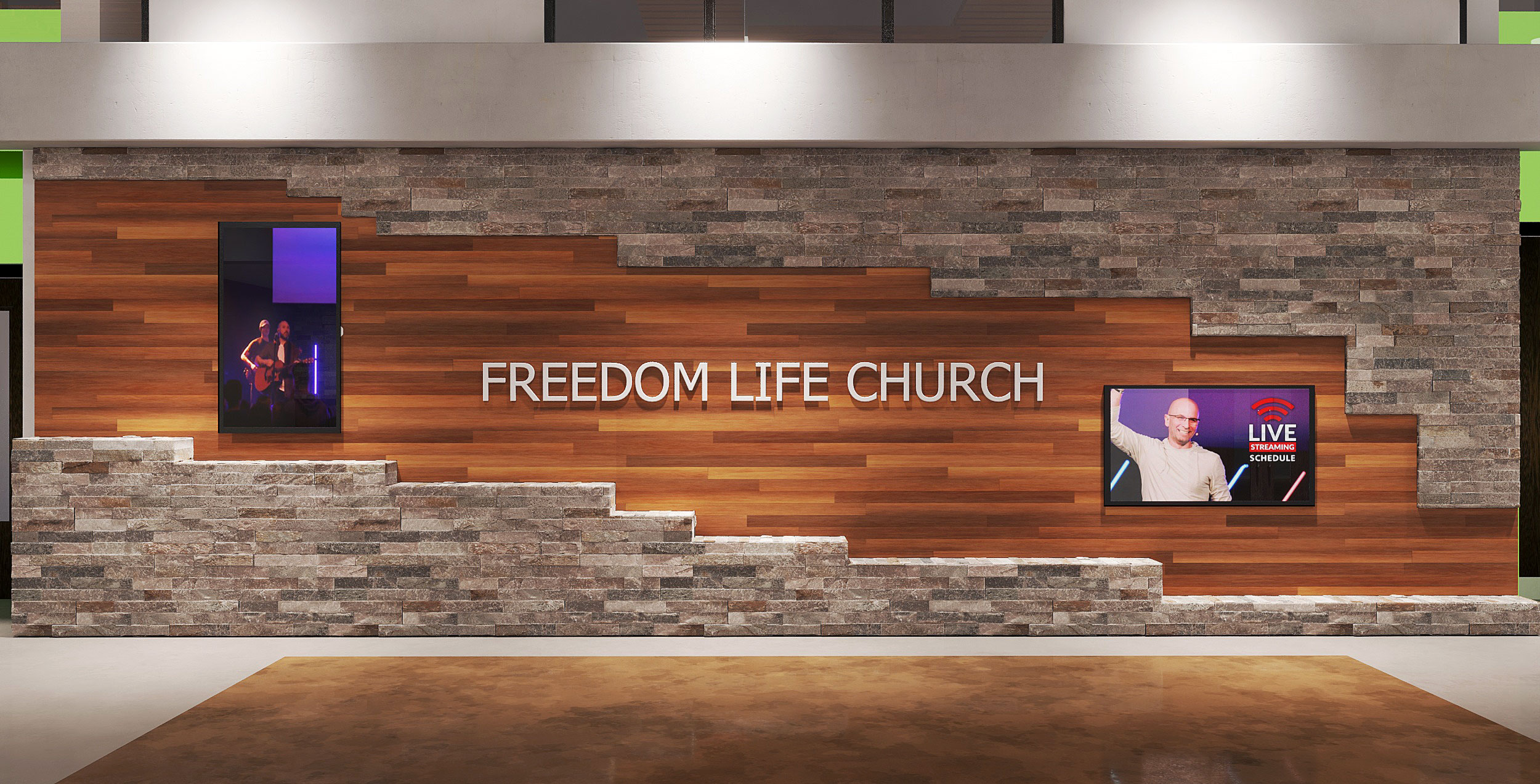 Church Building Architecture & Interior Design